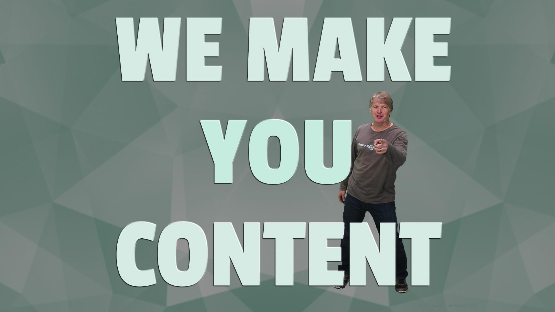 Content Production | Project Archives
